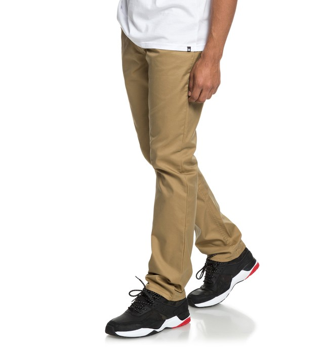 0 Worker Chinos Brown EDYNP03145 DC Shoes