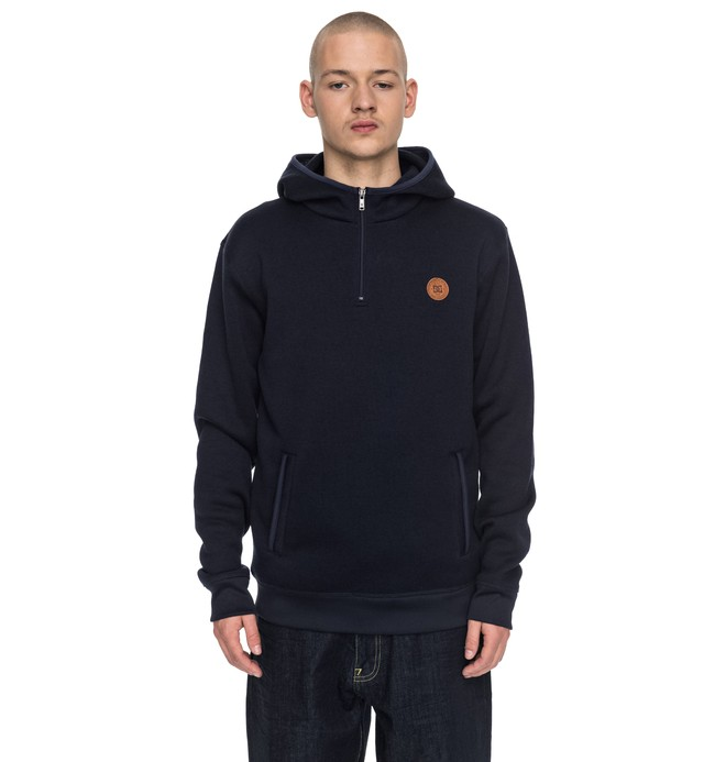 0 Elby - Sweat à capuche en polaire pour Homme  EDYPF03022 DC Shoes