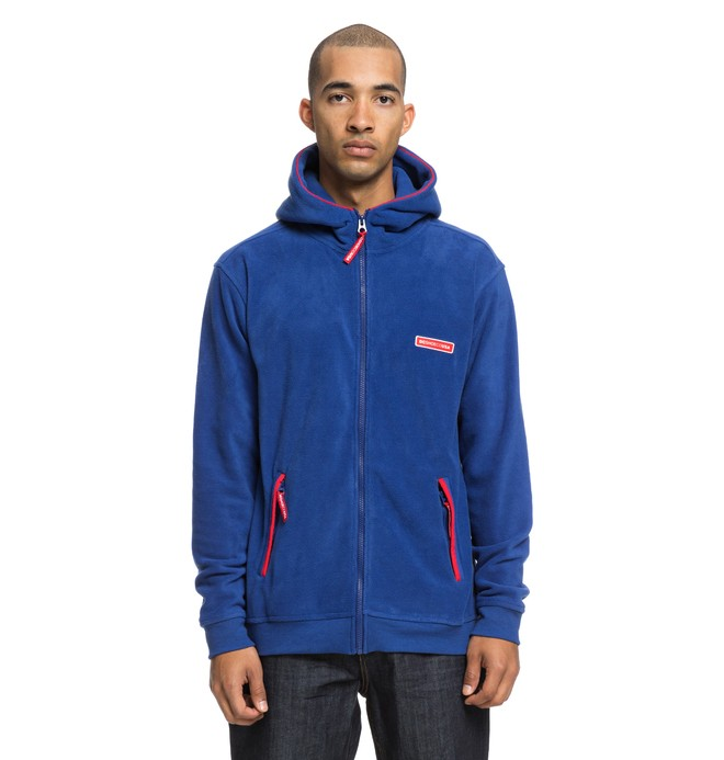 0 Beckerley Zip-Up Hoodie Blue EDYPF03026 DC Shoes