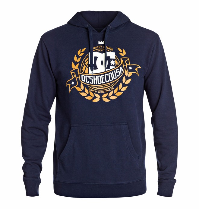 0 Men's Worldwide Pullover Sweatshirt  EDYSF03042 DC Shoes