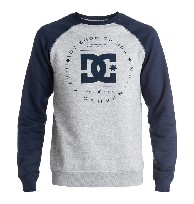 0 Men's Rebuilt Raglan Sweatshirt  EDYSF03065 DC Shoes