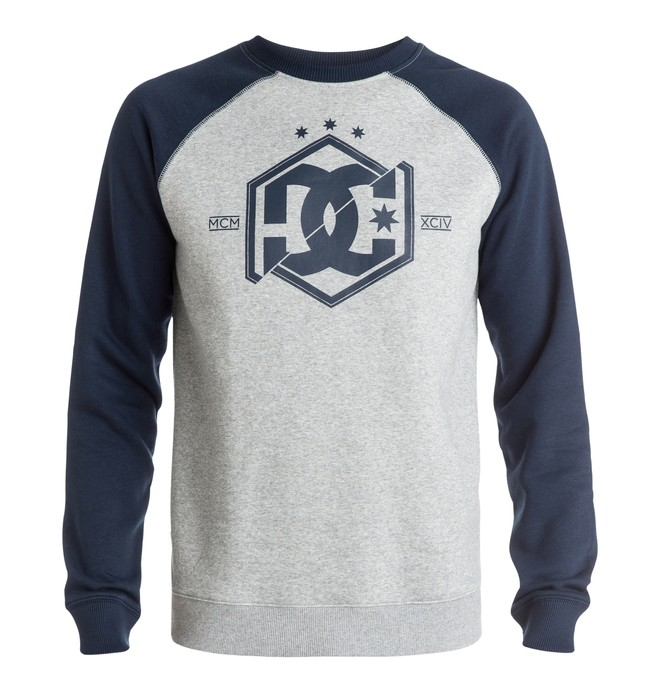 0 Men's Hepta Raglan Crew Sweatshirt  EDYSF03078 DC Shoes