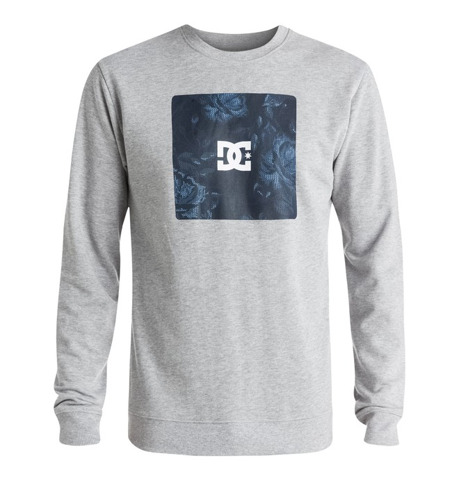 0 Men's Square Hit Crew Sweatshirt  EDYSF03089 DC Shoes