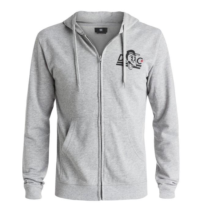 0 Men's Crowtown Zip-Up Hoodie  EDYSF03093 DC Shoes