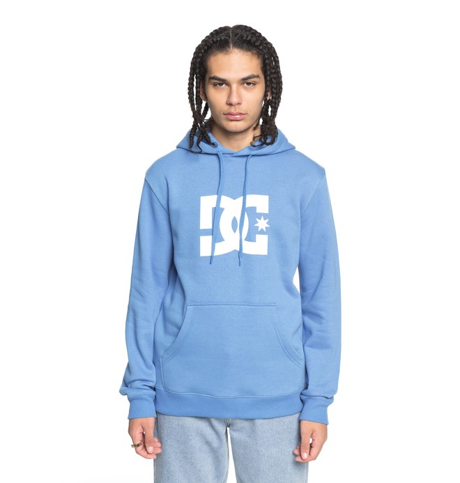 0 Star - Hoodie Blue EDYSF03107 DC Shoes