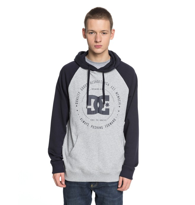0 Rebuilt - Hoodie for Men Blue EDYSF03145 DC Shoes