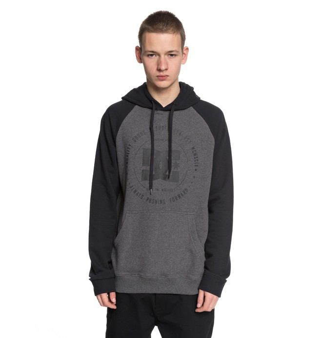 0 Men's Rebuilt Hoodie Black EDYSF03145 DC Shoes