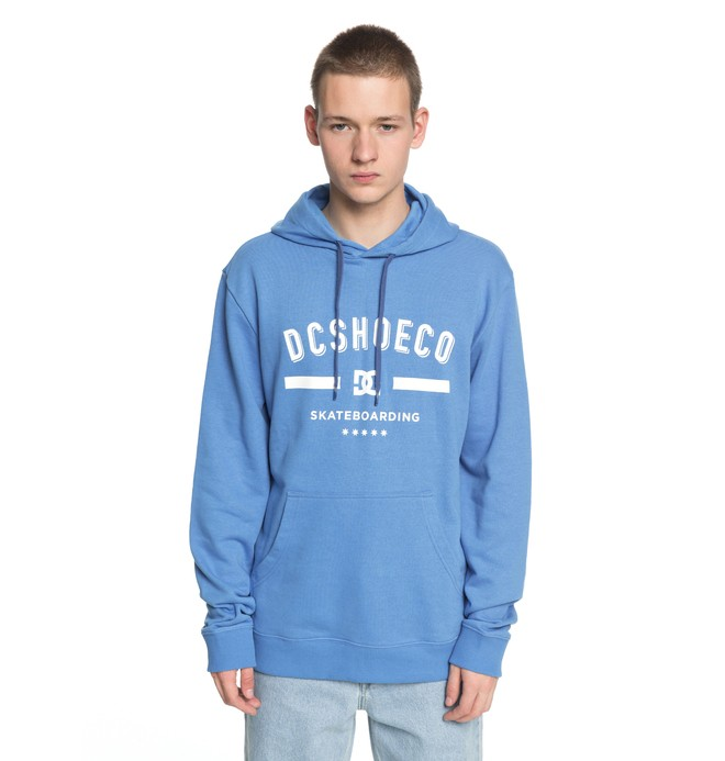 0 Men's Last Stand Hoodie Blue EDYSF03149 DC Shoes
