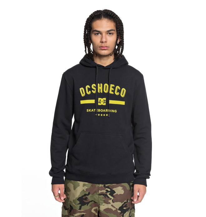 0 Last Stand - Hoodie for Men Black EDYSF03149 DC Shoes