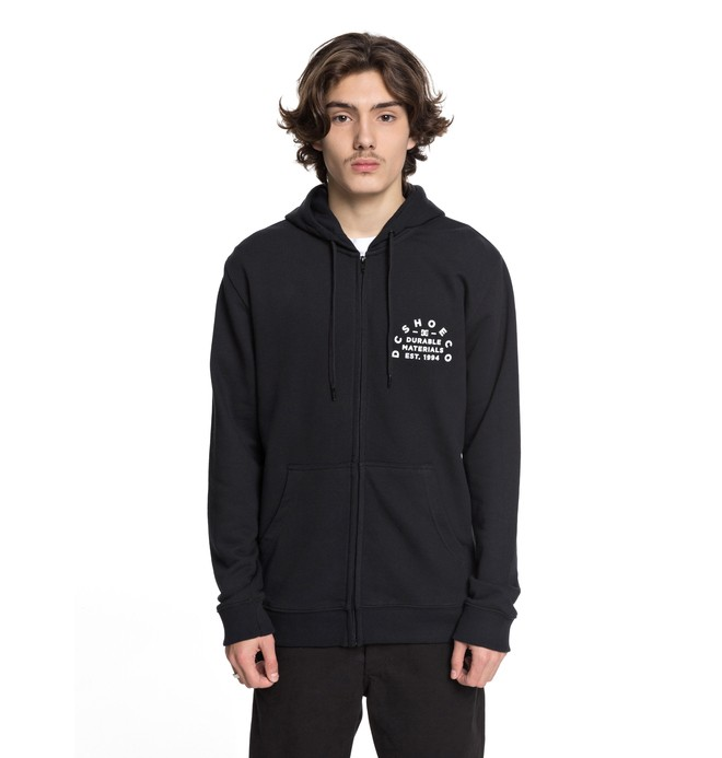 0 Durable Timer Zip Up Hoodie  EDYSF03155 DC Shoes