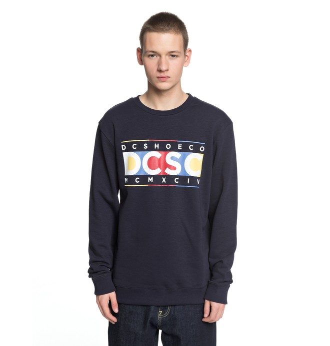 0 Men's Knuckle In A Row Sweatshirt  EDYSF03157 DC Shoes