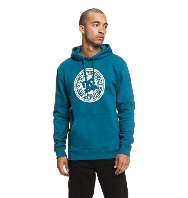 0 Circle Star Hoodie Blue EDYSF03166 DC Shoes