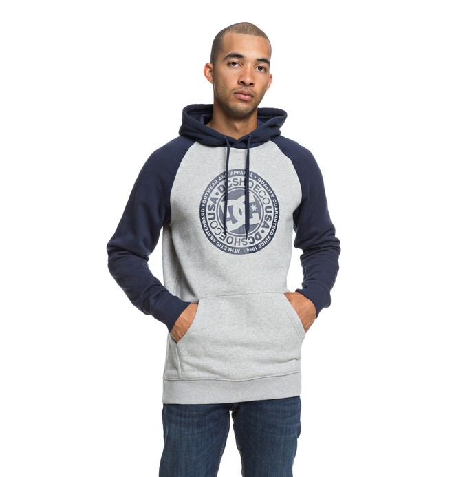 0 Men's Circle Star Hoodie Blue EDYSF03178 DC Shoes