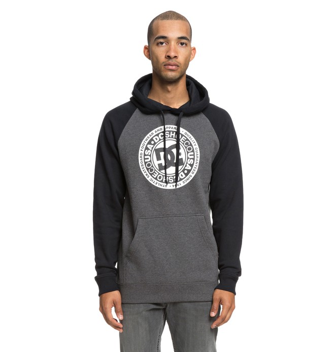 0 Circle Star - Sudadera con capucha para Hombre Negro EDYSF03178 DC Shoes