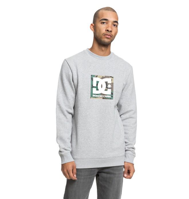 0 Men's Camo Boxing Sweatshirt  EDYSF03181 DC Shoes