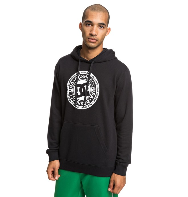 0 Circle Star Hoodie Black EDYSF03183 DC Shoes