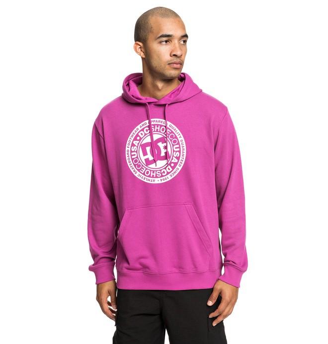0 Circle Star - Sweat à capuche pour Homme Rose EDYSF03183 DC Shoes
