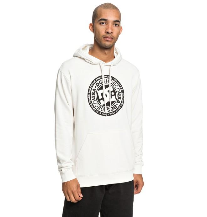 0 Circle Star - Sweat à capuche pour Homme Blanc EDYSF03183 DC Shoes
