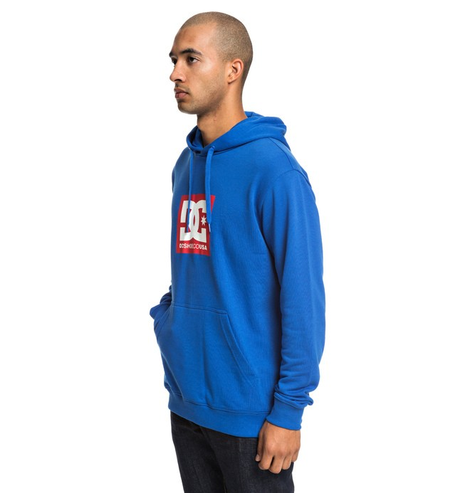 0 Square Star - Hoodie for Men Blue EDYSF03184 DC Shoes