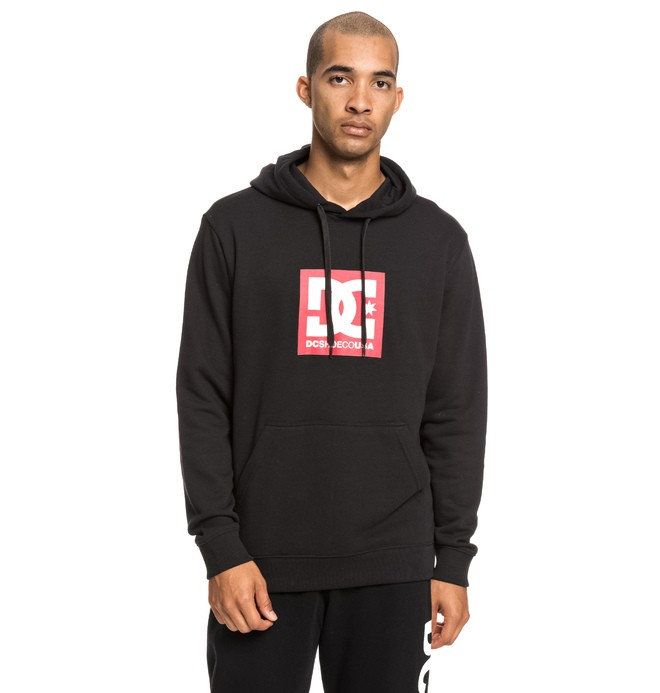 0 Square Star - Sweat à capuche pour Homme Noir EDYSF03184 DC Shoes