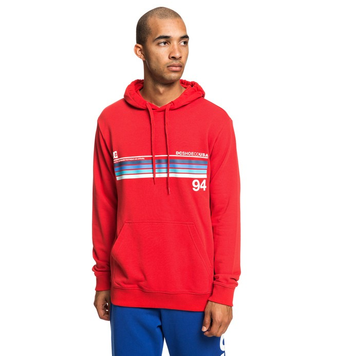 0 Crasingle - Hoodie for Men Red EDYSF03186 DC Shoes