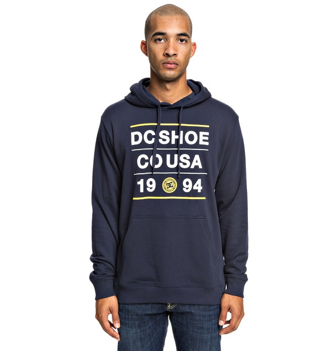 0 Property - Hoodie for Men Blue EDYSF03188 DC Shoes
