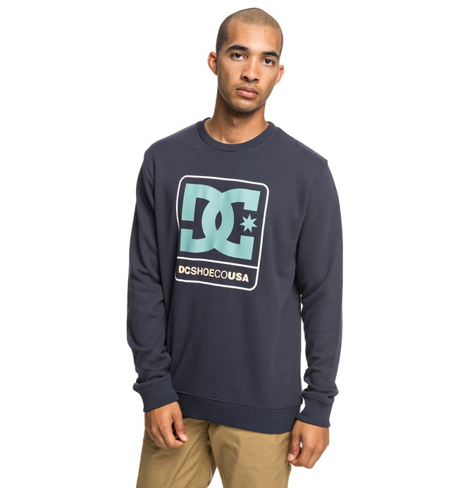 0 Cloudly - Sweat pour Homme Bleu EDYSF03192 DC Shoes