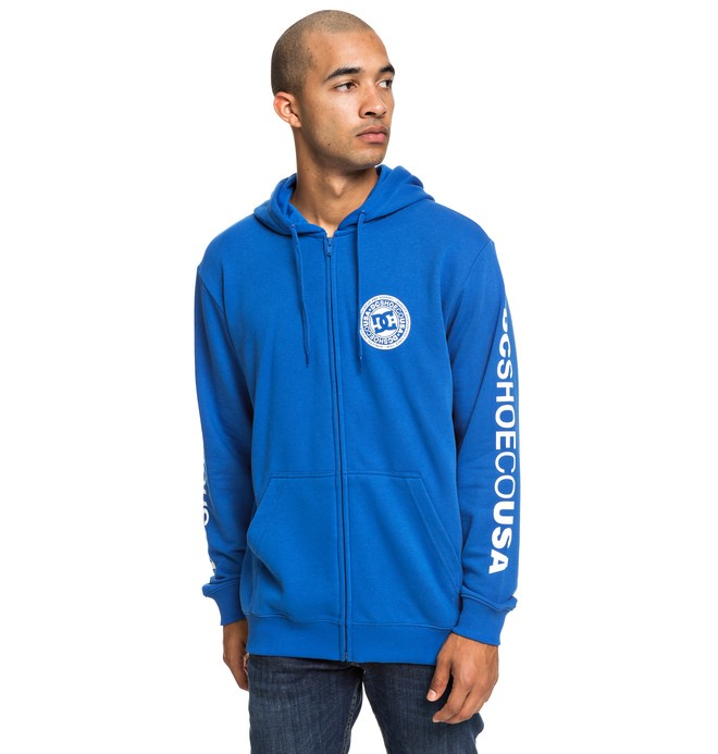 0 Circle Star - Sweat à capuche zippé pour Homme Bleu EDYSF03194 DC Shoes