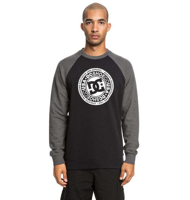 0 Circle Star - Sweatshirt for Men Black EDYSF03198 DC Shoes