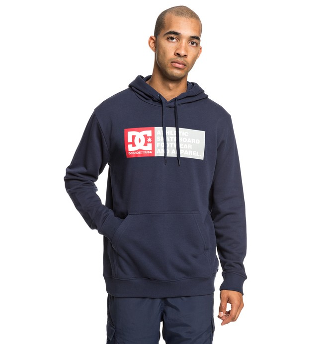 0 Vertical Zone - Hoodie for Men Blue EDYSF03199 DC Shoes