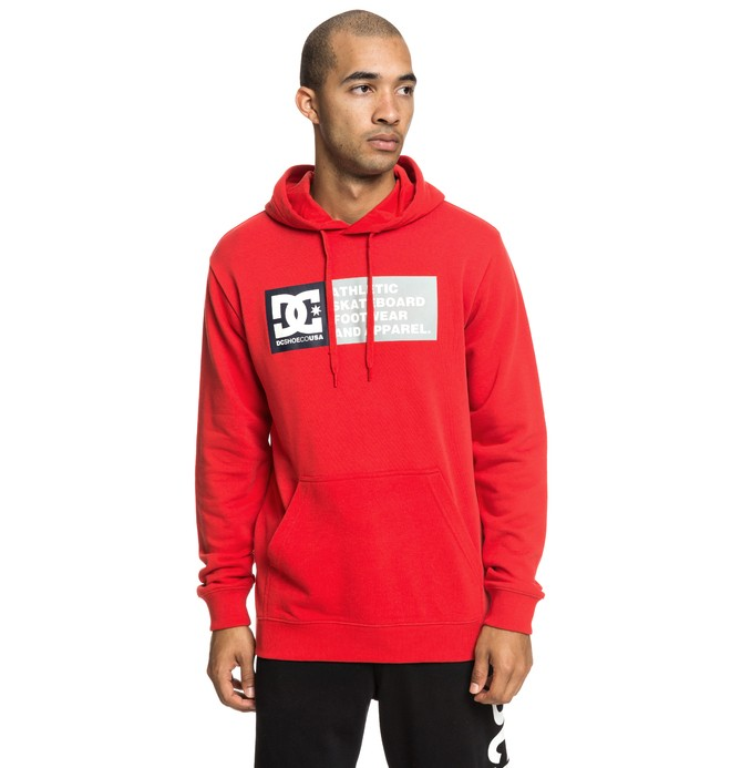 0 Vertical Zone - Sweat à capuche pour Homme Rouge EDYSF03199 DC Shoes