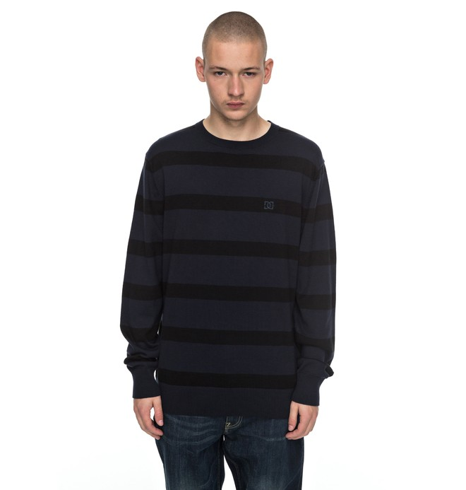 0 Men's Sabotage Stripe Sweater  EDYSW03024 DC Shoes