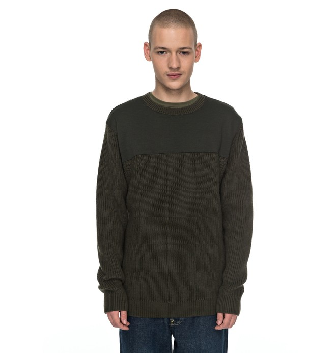 0 Panelytics - Pullover Braun EDYSW03028 DC Shoes
