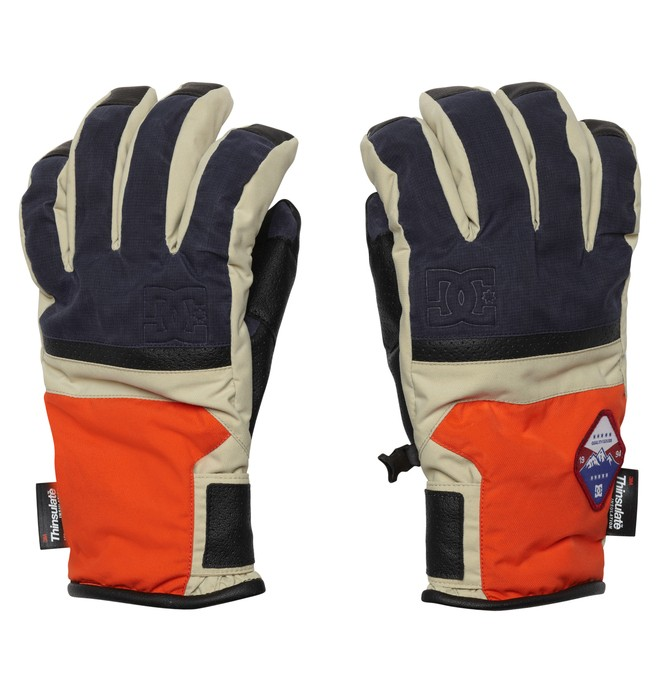 0 Men's Hiked 15 Gloves  EDYTH00005 DC Shoes