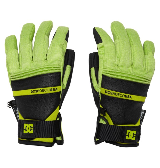 0 Men's Mizu 15 Gloves  EDYTH00011 DC Shoes