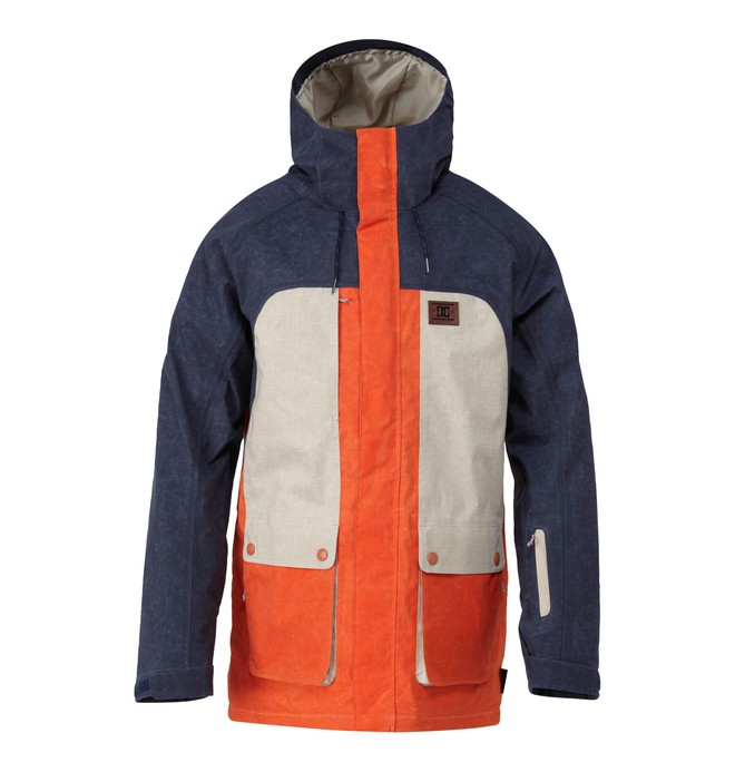 0 Men's Kingdom Snow Jacket  EDYTJ00017 DC Shoes