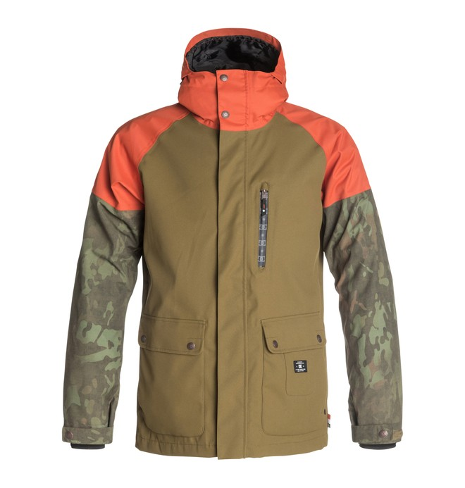 0 Men's Clout Snow Jacket  EDYTJ03004 DC Shoes