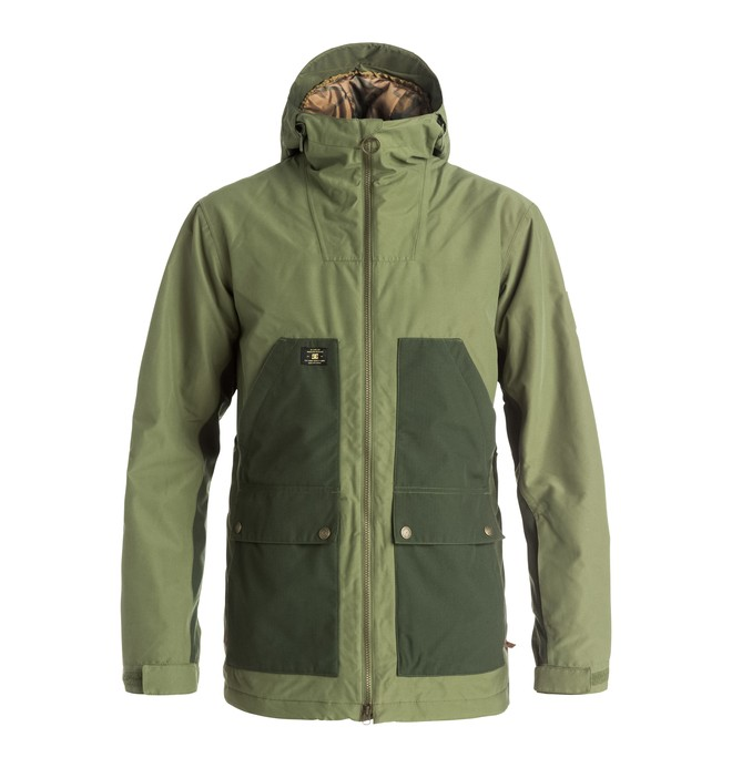 0 Men's Summit Snow Jacket  EDYTJ03026 DC Shoes