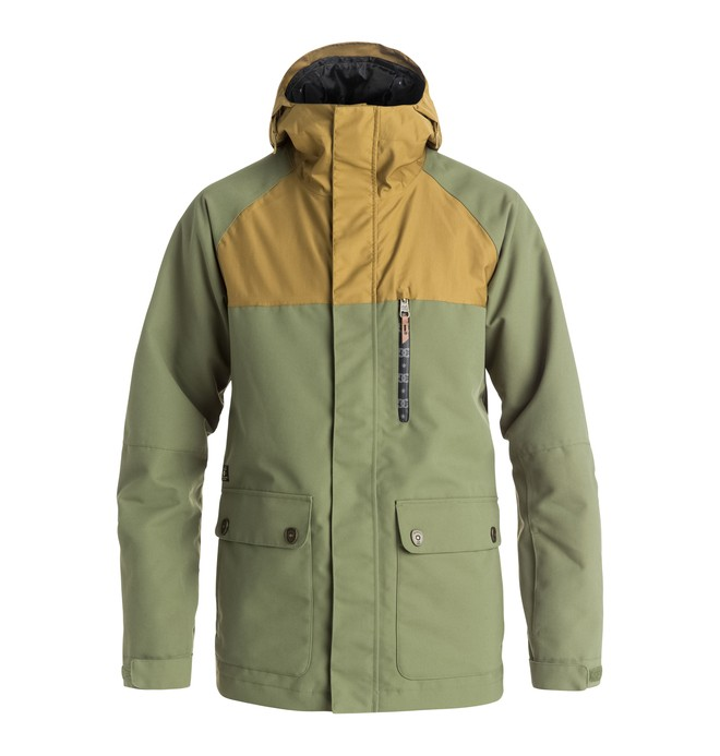 0 Men's Clout Snow Jacket  EDYTJ03035 DC Shoes