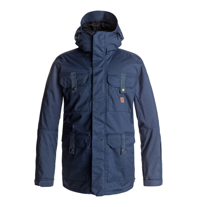 0 Servo - Snow Jacket for Men Blue EDYTJ03043 DC Shoes