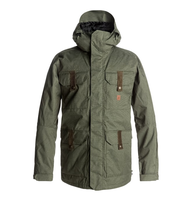 0 Servo - Snow Jacket for Men Green EDYTJ03043 DC Shoes