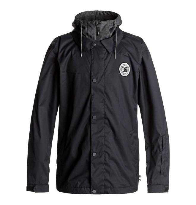 0 Cash Only - Snowboard Coach Jacket for Men Black EDYTJ03045 DC Shoes