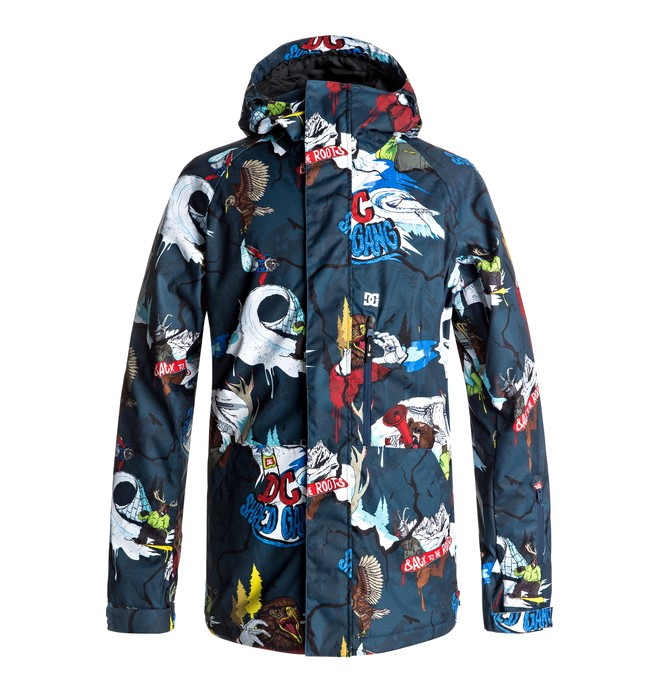 0 Ripley - Snow Jacket Blue EDYTJ03049 DC Shoes