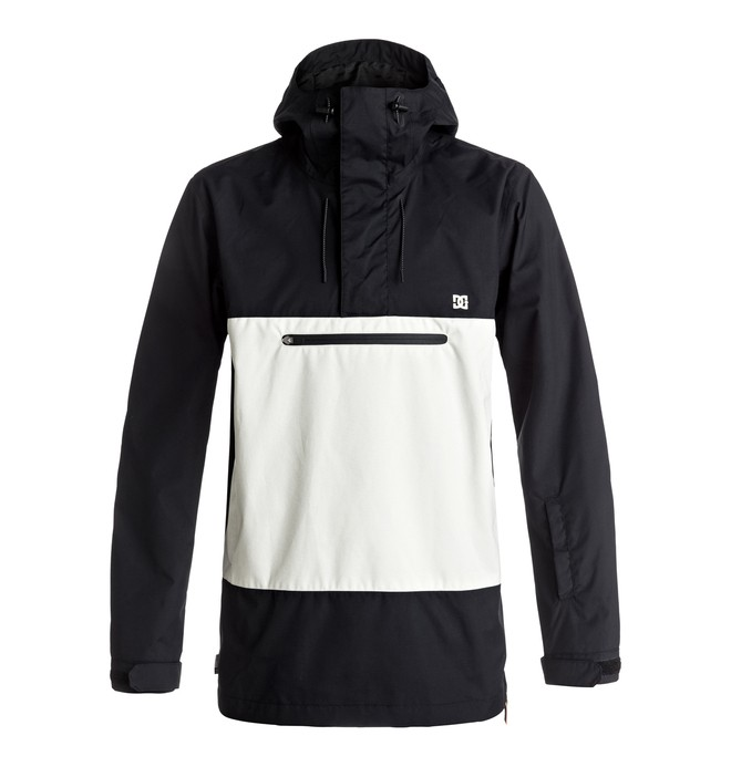 0 Men's Rampart Snow Jacket Black EDYTJ03052 DC Shoes