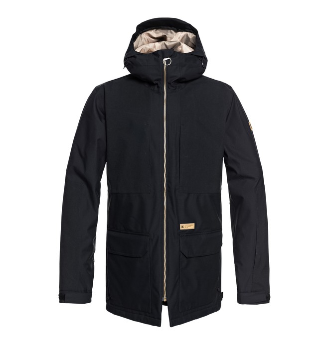 0 Summit Snow Jacket Black EDYTJ03068 DC Shoes