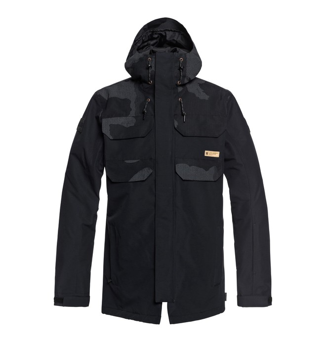 0 Haven Snow Jacket Black EDYTJ03070 DC Shoes