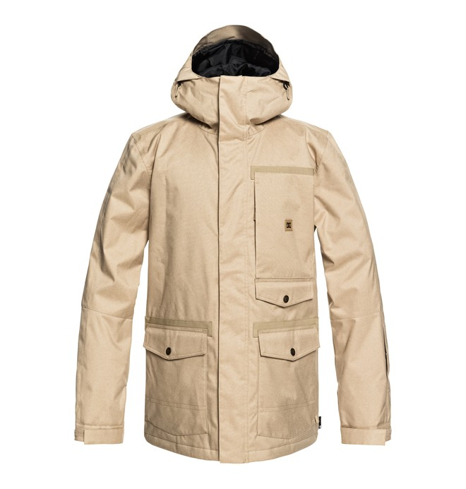 0 Servo Snow Jacket Brown EDYTJ03071 DC Shoes