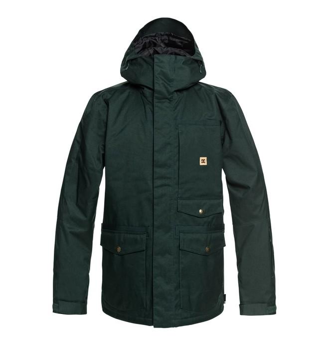 0 Servo - Parka Snow Jacket for Men Green EDYTJ03071 DC Shoes