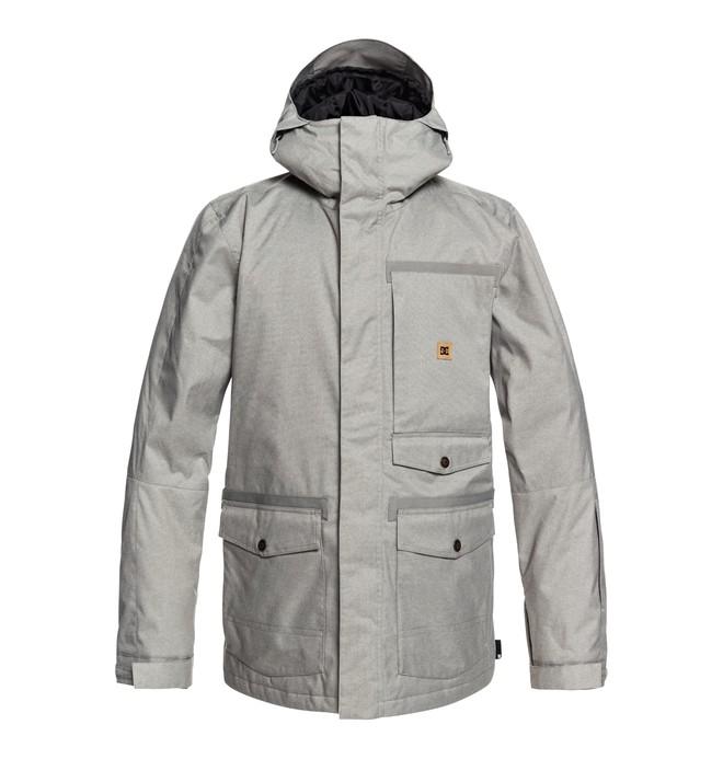 0 Servo Snow Jacket Grey EDYTJ03071 DC Shoes