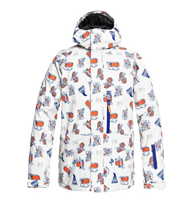 0 Сноубордическая куртка Ripley Фиолетовый EDYTJ03072 DC Shoes